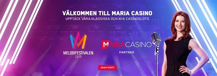 Nya bra bonusar hos Maria Casino 2019