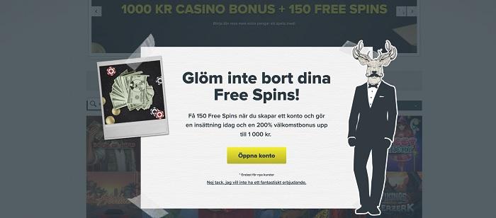 SuperLenny ger dig superbonus på online casino